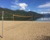 Christina Lake Provincial Park volleyball net