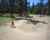 KVR Bike Park playground Kettle River Recreation Area BC PARKS Okanagan campground